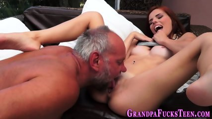 Teen spermed by gramps - scene 4