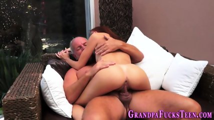 Teen spermed by gramps - scene 7
