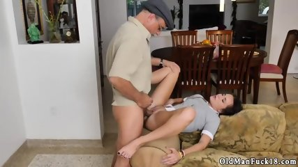 Old dudes fuck young pussies and man web cam Riding the Old Wood! - scene 9