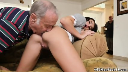 Old dudes fuck young pussies and man web cam Riding the Old Wood! - scene 2