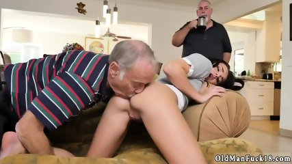 Old dudes fuck young pussies and man web cam Riding the Old Wood! - scene 3