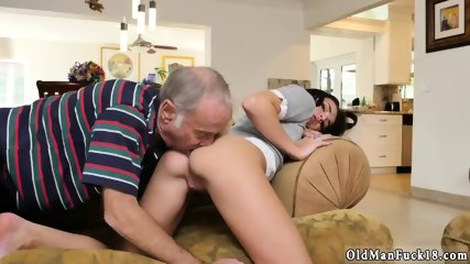 Old dudes fuck young pussies and man web cam Riding the Old Wood! - scene 4