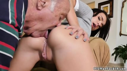 Old dudes fuck young pussies and man web cam Riding the Old Wood! - scene 5