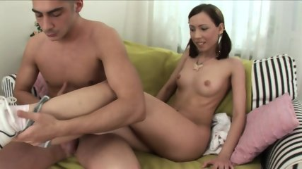 Moira Takes Big Dick In Mouth, Pussy And Ass - scene 1