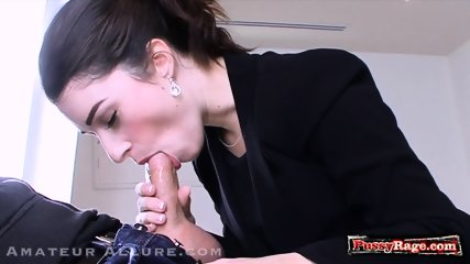 Hot amateur ball licking and cum in mouth - scene 6