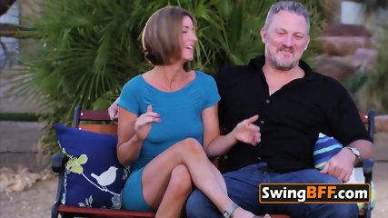 Jittery swinger couple is decided to have the night of their lives