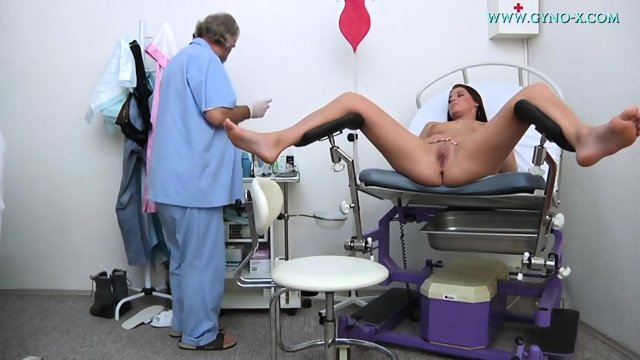 Vagina Exam In Doctor's Cabinet