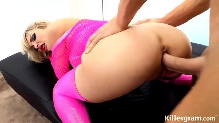 Pink Girl Filled With Cock - scene 6