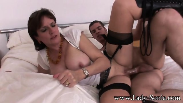 Young Lover Fucks Hot Housewife