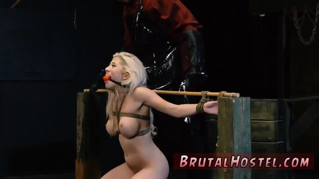 Winter bondage and ally s step companion Big-breasted blondie cutie Cristi Ann is on