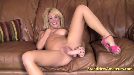 Solo By Amateur Blonde - scene 11