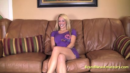 Solo By Amateur Blonde - scene 2