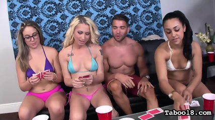 Girls Are Watching Their Kinky Friend In Action - scene 3