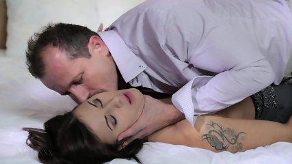 Amazing Brunette Dreams About Sex - scene 2