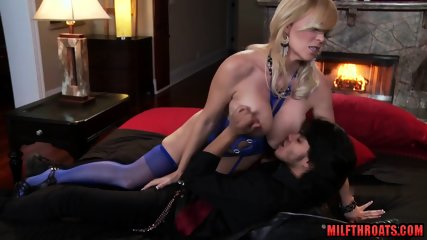 Big tits milf doggystyle with facial