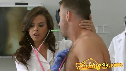 Nurse fantasy porn finally becomes reality