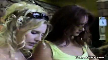 Lesbian MILFs teasing 3 - scene 8