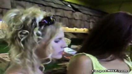 Lesbian MILFs teasing 3 - scene 9