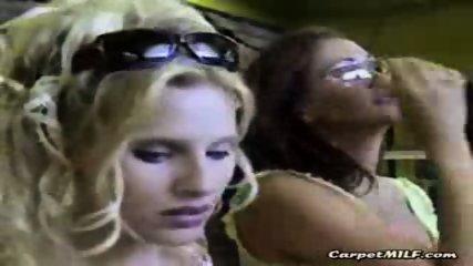 Lesbian MILFs teasing 3 - scene 10