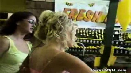 Lesbian MILFs teasing 3 - scene 1