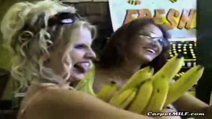 Lesbian MILFs teasing 3 - scene 5