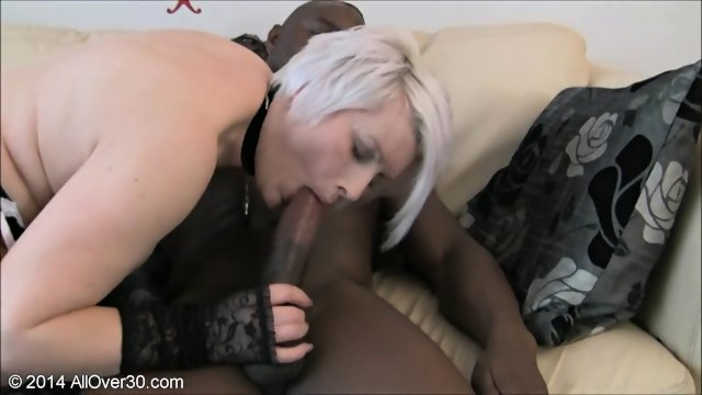 Mature Blonde Wants To Try Black Cock