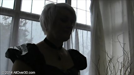 Mature Blonde Wants To Try Black Cock - scene 1
