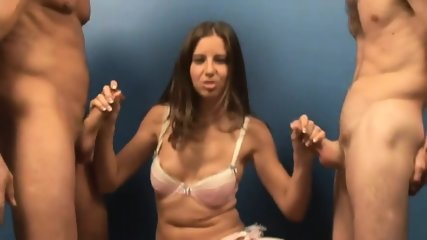 Hottie Wants To Be Covered In Cum - scene 1