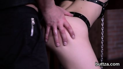 Adorable small girl gets her yummy vagina and petite anal penetrated