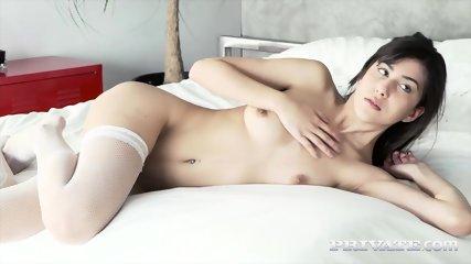 Private.com Brunette Loses Her Anal Virginity - scene 2