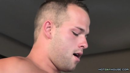 Two Handsome Dudes Fuck in the Kitchen
