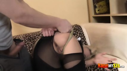 Blonde forced into rough anal hardcore