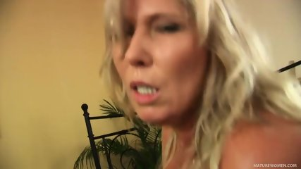 Busty Mom Takes Hard Cock - scene 9