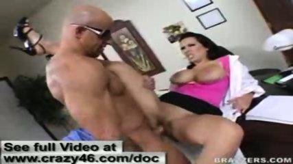 Doctor West fucks clients lawyer big cock - scene 10