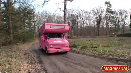 Sex In Pink RV - scene 2