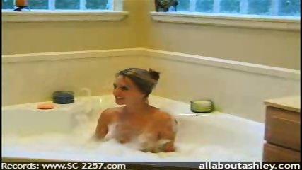 Ashley teasing in the bathtub - scene 2