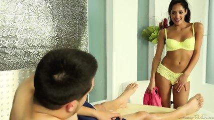 Sensual Massage By Sexy Masseuse - scene 6