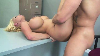 Hard Dick In Busty Blonde - scene 12