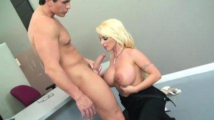 Hard Dick In Busty Blonde - scene 2