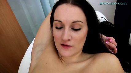 Charming Brunette's Pussy Exam - scene 6