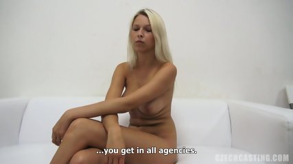 Sexy Blonde At The Casting - scene 5
