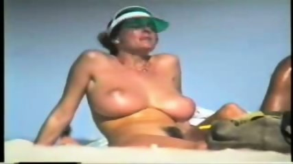 Giant Boobs on the Beach - scene 3