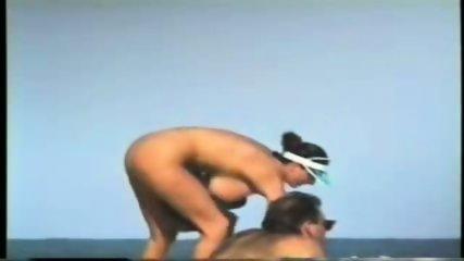 Giant Boobs on the Beach - scene 5