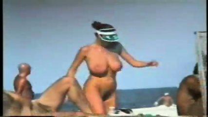 Giant Boobs on the Beach - scene 7