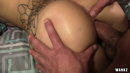 Aimee's Round Ass Covered In Cum - scene 10