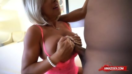 Hot wife sex with cum in mouth