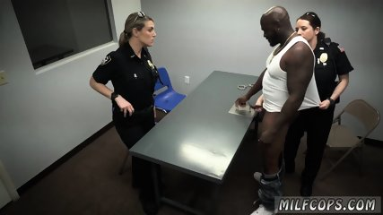 Interracial cigar smoking xxx Milf Cops