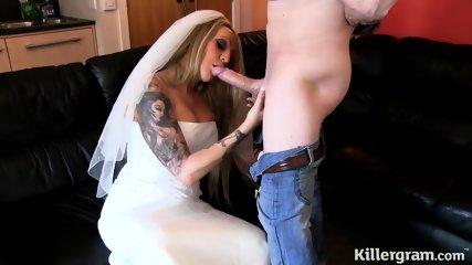 Kinky Bride Loves Sex - scene 3