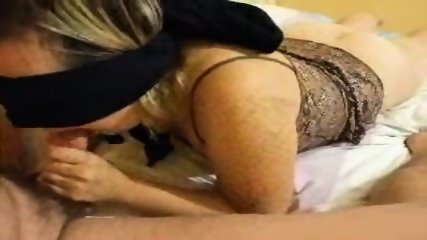 Blindfolded blowjob - scene 9