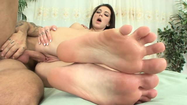 Sex With Amazing Footsie Girl